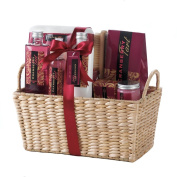 Body Wash Gift Set, Cranberry Tart Scented Body Care New Home Gift Basket Spa