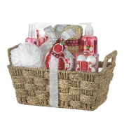 Bath And Body Gift Sets, Mother Holiday Spa Gift Baskets For Women