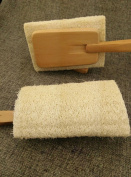 Coerni Novelty Loofah Sponge Bath Scrubber with Long Handle for Back with Long Handle - Excellent for Exfoliating Skin and Cellulite -Suitable for Men and Women Kids