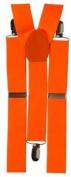 Fancy Dress Braces - Neon Orange by MK