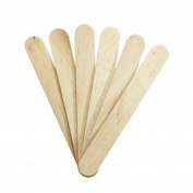 Wooden Waxing Spatulas Professional Disposable Wax Sticks Applicators + Mini FREE by Plain