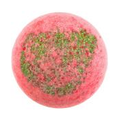 "BRUBAKER Big Handmade ""Strawberry"" Bath Bomb - All Natural, Vegan, Organic Ingredients"