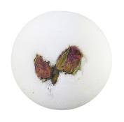 """BRUBAKER Big Handmade """"Lotus"""" Bath Bomb - All Natural, Vegan, Organic Ingredients"""