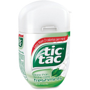 Tic Tac Breath Mints - Freshmint - Resealable Container - 100ml - 4 / Pack