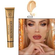 (#218) 100% Original Dermacol base primer corrector concealer cream makeup base tatoo consealer face foundation contour palette 30g