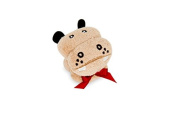 Couture Towel CT-TPHP001203 30cm x 28cm . Hippopotamus - Thomas Towel44; Golden Brown