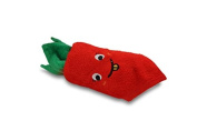 Couture Towel CT-HGCT001501 12 x 28cm x 5.1cm . Carrot Towel44; Red & Green