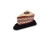 Couture Towel CT-PATC001502 30cm x 28cm . Mocha Chocolate Cake Slice Towel44; Chocolate