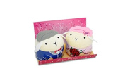 Couture Towel CT-GS15000013 13 x 36cm x 5.1cm . Meh Meeh Sheep Towel44; Love is in The Air