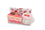 Couture Towel CT-GS15000002 Strawberry Vacherin & Cherry Cupcake Towel44; Sweet Confections