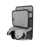 Youngerbaby Back seat Car Organiser For Kid Tablet IPad Wet Wipes Tissue Compartment Stretchy Storage Pockets