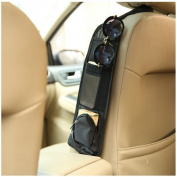 YRD TECH Car Seat Side Storage Organiser Interior Multi-Use Bag Accessory New