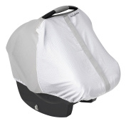 LulyBoo Carrier Cover - Variable Stretch Custom Fit Cover Provides UV Block and Air Flow