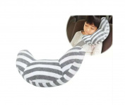 Ergonomic Car Seatbelt Cushion, Sphyrna Children Shoulder Protect Pillows Seatbelt Pads, Adjustable for Kids Safety, Soft Neck Sleep Pillow for Children Comfort, No More Flopping Sleep