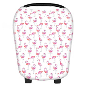 Kansea Multi-Use Stretchy Nursing Cover Floral for Baby Car Seat Cart
