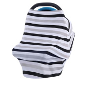 Fang sky Multi-Use Stretchy Newborn Infant Nursing Cover Baby Car Seat Canopy Cart Cap