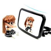 Baby Car Mirror for Back Seat Rear View Baby Mirror - Large Size Clear View Rear Facing Mirror