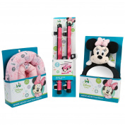 Disney Minnie Mouse Baby Travel Essentials Bundle, Pink