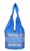 Traditional Elephant Design Embroidered Bag Rajasthani Style Cotton Handbag