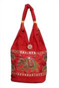 Cotton Canvas Stripes Hippie Indian Sling Long Shoulder College Bag