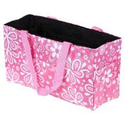 Multipurpose Baby Nappy Nappy Tote Bag Flower Print Waterproof Separate Mummy Handbag