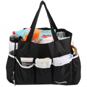"kilofly Baby Nappy Bag Insert Organiser Multi Pocket Large 12x 5"" x 25cm Purse Liner"