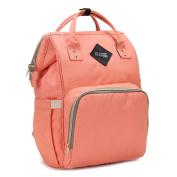 Lotus.flower Mummy Nappy Bag Large Capacity Baby Bag Travel Backpack Desiger Nursing Bag