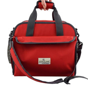 Anna & Eve LC-0002 The Life Changer Nappy Bag & Portable Lap Changing Station44; Candy Apple Red