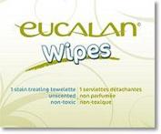 Eucalan EUCALANSTAIN Stain Treating Wipes