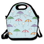 Rainy Monsoon Umbrella Lunch Bag Adjustable Strap