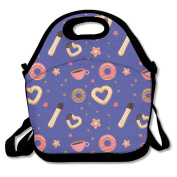 Churros And Donut Lunch Bag Adjustable Strap