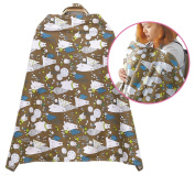 NinkyNonk Cotton Baby Feeding Cover Privacy Nursing Cover ups, . Breastfeeding Apron for Mothers