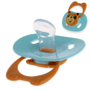Niceskin Baby Pacifier Biter Teether Soother Nipples, Silcone