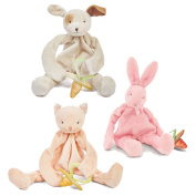 Bunnies By The Bay Bundle of 3 Silly Buddies - Purr-Ty Kitty, Pink Bunny & Skipit Puppy