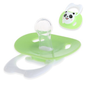Wivily Baby Pacifier Soother Silicone Dummy Baby Pacifier Teether Soother Nipples -Bear