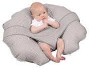 Leachco Cuddle-U Basic Nursing Pillow and More, Grey Pindot
