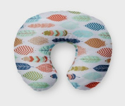 AllTot Nursing Pillow Cover in Feathers
