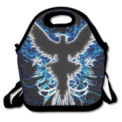 Neon Eagle Cool Multifunctional Lunch Tote Bag Carry Box