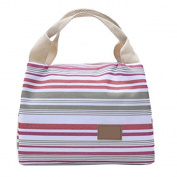 Lunch Bags, USCOOL Thermal Insulated Lunch Bag Tote Cooler Zipper Bag Bento Lunch Pouch
