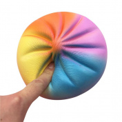 New ! Leedford Release Stress Cute Colourful Bun Squishy Slow Rising Cream Scented Decompression Toys