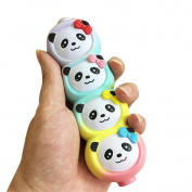 Stress Reliever Toy, Leedford Four Cute Panada Cream Scented Slow Rising Relieve Stress Decompression toys