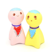 PENATE Exquisite Fun Cute Sunny Doll Scented Squishy Charm Slow Rising Simulation Toy