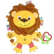 TOYMYTOY Cartoon Animals Plush Toys Sleeping Toys for Newborn Baby Boy Girl Children Kids