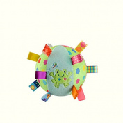 GREATLOVE Multi-Functional Newborn Frog Pattern Plush Ball Hook Hook Toy Player Seize the Ball to Appease the Ball