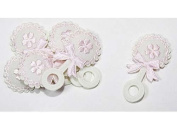 Baby Shower Decoration Cotton Baby Rattle Pink