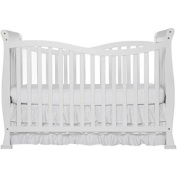 7-in-1 Convertible Crib, Home Furniture, Baby Set,Toddler Daybed,Adjustable Mattress Support System Full Size Bed, Bed Frame, Baby Bedding, 4 Positions, Baby Bed, BONUS e-book