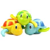 FUNNY365 Swim Turtle Baby Wound-Up Chain Bath Toy