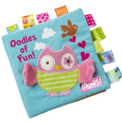 LOUSHI Animals Owl Soft Cloth Baby Intelligence Development Learn Picture Cognize Book
