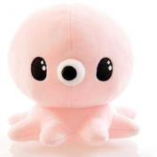 "Lanlan 7.9"" Kids Cute Stuffed Marine Animals Toy Soft Octopus Plush Doll Sleep Pal for Toddler Baby Boy Girl colour:Pink; 20cm"