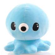 "Lanlan 7.9"" Kids Cute Stuffed Marine Animals Toy Soft Octopus Plush Doll Sleep Pal for Toddler Baby Boy Girl colour:Blue; 20cm"